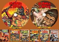 Planet Of The Apes Weekly Comic Collection & more On Two PC DVD Rom's (CBR'S)