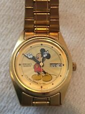 Disney Wrist Watch - SEIKO Mickey Mouse - Day & Date - Working Condition #031571