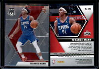 Terance Mann 2019-20 Panini Mosaic #246 Rookie RC Base Card LA Clippers