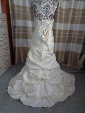 (5)Edles Damen Braut Standesamt Abend Kleid  GR: GR: 38