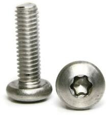 "Stainless Steel Torx Pan Head Machine Screw 5/16-18 x 1"" Qty-25"