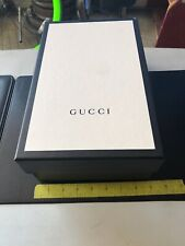 Authentic GUCCI Empty Shoe Box Size