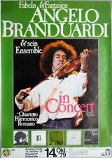 BRANDUARDI, ANGELO - 1979 - Konzertplakat - Concert - Tourposter - Düsseldorf