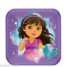 DORA THE EXPLORER AND FRIENDS SMALL PAPER PLATES (8) ~ Birthday Party Supplies