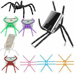 Universal Spider Flexible Grip Holder Stand Mount Bracket For Mobile Phone