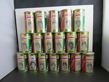 EBAB                  BASEBALL PHILLIES CANADA DRY SODA SET  28 cans-vintage