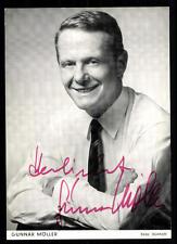 Gunnar Möller Autogrammkarte Original Signiert ## BC 33140