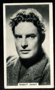 Tobacco Card,Ardath,PHOTOCARDS FILM ETC GROUP M Standard,1939,Robert Donat