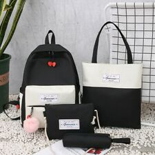 Backpack fashion travel bag leisure schoolgirl schoolbag fashion computer four