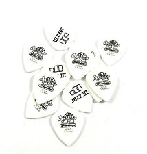 Dunlop Guitar Picks 12 Pack Tortex White Jazz III 1.50mm  478P1.5