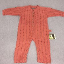 Woolrich Children's Coveralls One Piece Size 24 Months Checkered Roses NOS NWT