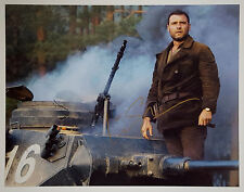 LIEV SCHREIBER In-Person Signed 11x14 Zus Bielski WWII Tank Photo Defiance w/COA