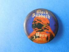 BLACK SABBATH BORN AGAIN VINTAGE BUTTON BAND CONCERT FAN COLLECTOR PIN BACK