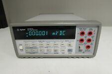 Agilent 34401A Digital Multimeter, 6½ Digit, Read