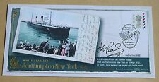 WORLDWIDE POSTCARD NVI 2004 BENHAM FDC SIGNED BY ROWER DEBRA VEAL