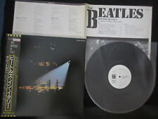 Beatles In Italy Japan Promo White Label Vinyl LP with OBI 1982 Odeon Label