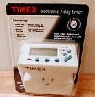 Timex 7 Day Appliance Timer Electronic Digital 20 Programs Rechargeable photo