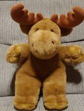 "Ikea Algkalv Moose Reindeer Elk Stuffed Plush 13"""