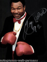 Larry Holmes TOP Gross AK Orig. Sign. Boxen +G 8970