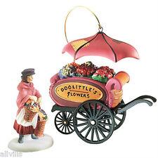 Chelsea Market Doolittle'S Flower Monger & Cart #58157 Dickens Village Accessory
