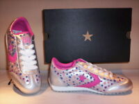 Scarpe sportive sneakers Converse All Star Leather Trainer donna pelle new 40 41