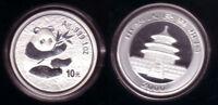 China 10 Yuan Silber Panda 2000