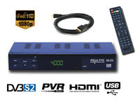Digital Sat Receiver FTA HD SCART + HDMI PVR Ideal Türksat