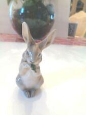 "Vintage Royal Copenhagen Delicate Rabbit Figurine 3-1/2"" High - 1019 Circa 1950'"