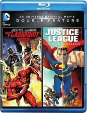 JUSTICE LEAGUE :FLASHPOINT PARADOX / CRISIS ON 2 EARTHS -  Blu Ray - Region free