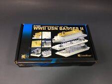 LionRoar R7098 1/700 WWII USN Barges II (YC283 YOS1 YR49)