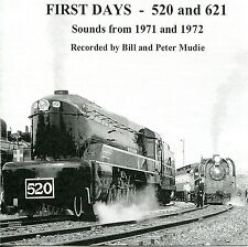 Steam Train Sound Effects CD - FIRST DAYS 520 and 621 after restoration 1971/72