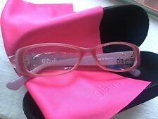 Montura FRAMES PINK NWT exclusive GIARRE eyewear since 1996 ITALY new ITALIA