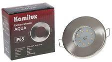 LED Einbau-Strahler Spot IP65 Bad ultra-flach Einbau-Leuchte Lampe 3er | 6er Set