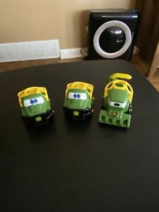Oball Go Grippers Licensed John Deere Farm Tractors Toy