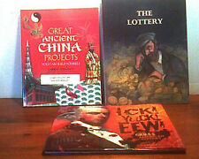 CHILDRENS BKS Ancient China Projects  ICK GROSS AMER HISTORY  Lottery NEW 3 in 1