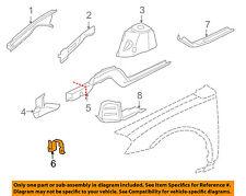 GM OEM Fender-Bumper Bracket Left 10437870