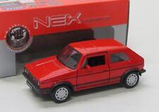 VW Golf 1 GTi ( 1976 ) rot / Welly 1:38 / ca.11 cm