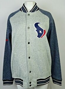 Houston Texans Men's Knitted Button Down Sweater Jacket NFL XL