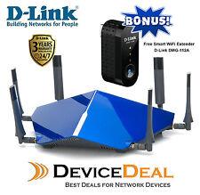 D-Link DSL-4320L TAIPAN AC3200 Ultra Wi-Fi Modem Router + Smart Wifi Extender