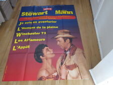 JAMES STEWART Anthony Mann Film Festival 1990s French Grande poster