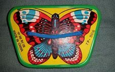 Vintage Butterfly SQUEEZE BOX ACCORDION Musical TOY China TP. 506 Works Well!