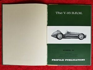 The V - 16 BRM Profile Publications no.96 Professionally Bound MINT