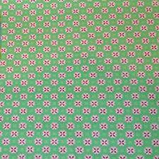 Gutermann Summer Loft Fabric Green and Pink. By the Fat Quarter