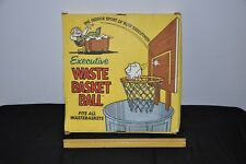 Vintage Poynter Products 1966 maybe NOS WASTE BASKET BALL BOARD HOOP NET
