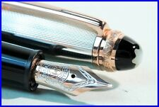 MONTBLANC 75th anniversary 1924 LE 146 Fountain Pen SILVER, ROSE GOLD & BLACK