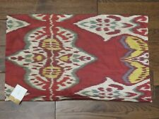 POTTERY BARN IKAT INEZ PILLOW COVER NEW 16 X 26