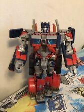 Transformers Movie 2007 Leader Class Optimus Prime Complete Electronics Work