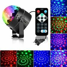 Sound Activated Party Lights with Remote Control Dj Lighting, Rbg Single Pack