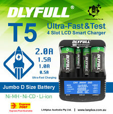 T5 Ultra-Fast 2A D Size Li-ion 18650 Analyzer Tester Charger > Opus BT-C3100
