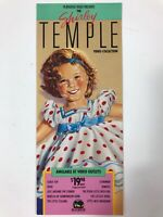 Vintage 1988 Playhouse The Shirley Temple Video Collection Advertisement Card.